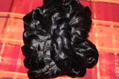 louet black silk